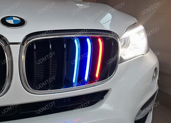 Full Led Illuminated Grille Insert Trims For Bmw X5 X6