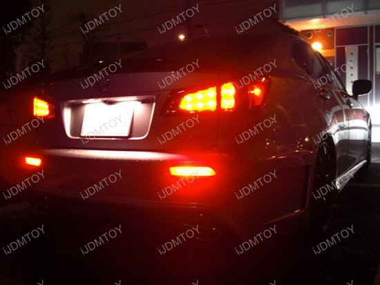 Optics Tube Style LED Bumper Reflectors