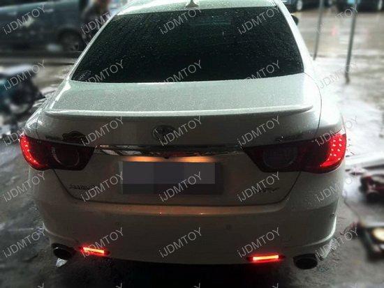 Lexus Rc Is F Gx470 Toyota Sienna Led Bumper Reflector Lights