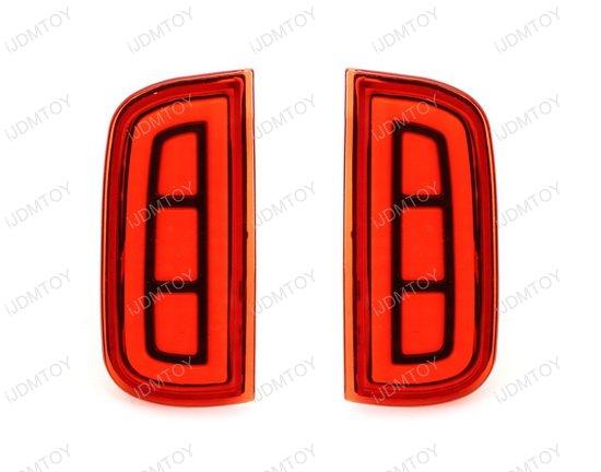 Honda Civic LED Bumper Reflector Lights