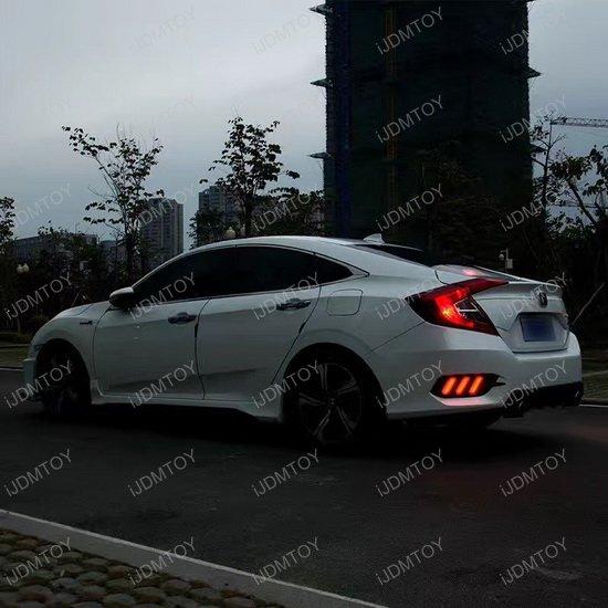 Honda Civic LED Rear Fog Light
