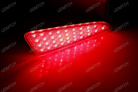 Toyota CHR LED Rear Bumper Reflector