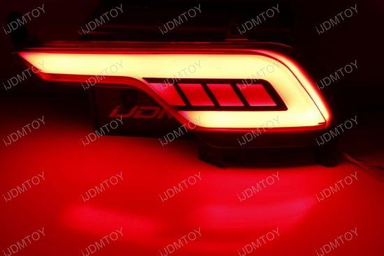 Hyundai Santa Fe Sport LED Bumper Reflector