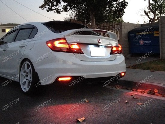 Honda Civic LED Bumper Reflector Lens