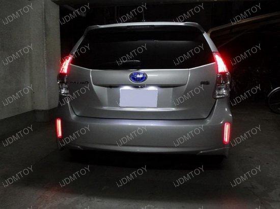 Toyota Scion LED Bumper Reflector Lens