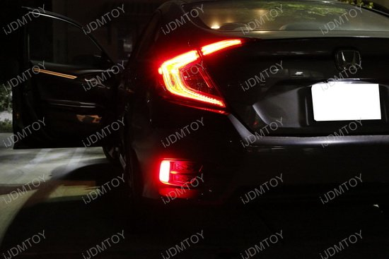 Honda Civic LED Bumper Reflector