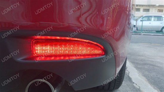 Mazda 3 6 LED Bumper Reflector