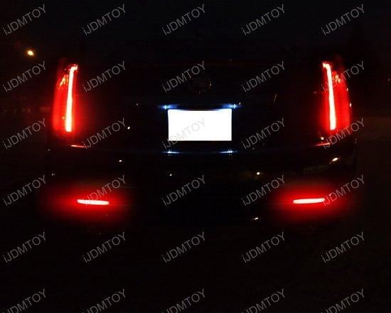 Cadillac CTS GMC Acadia LED Bumper Reflector Rear Fog ...