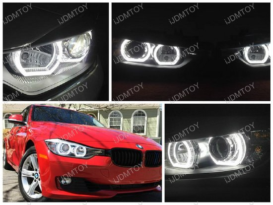BMW F30 3 Series DTM Style LED Angel Eyes