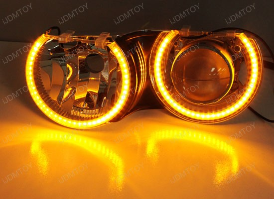 Bmw Switchback Led Angel Eye Rings For Bmw E46 3 Series