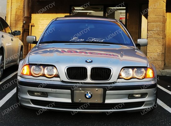 bmw switchback led angel eye rings for bmw e46 3 series 325i 330i. Black Bedroom Furniture Sets. Home Design Ideas