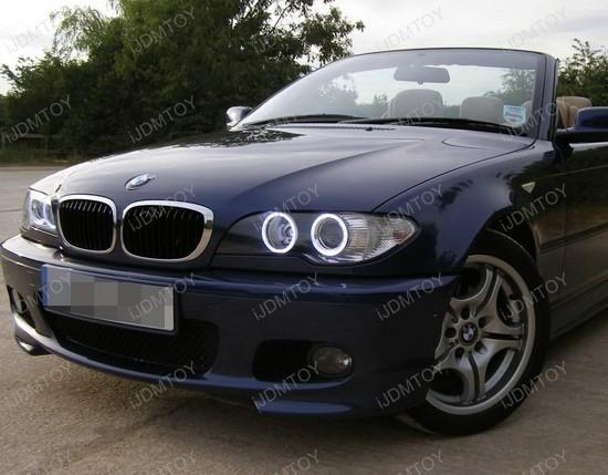 BMW E46 3 Series Coupe LED Angel Eyes