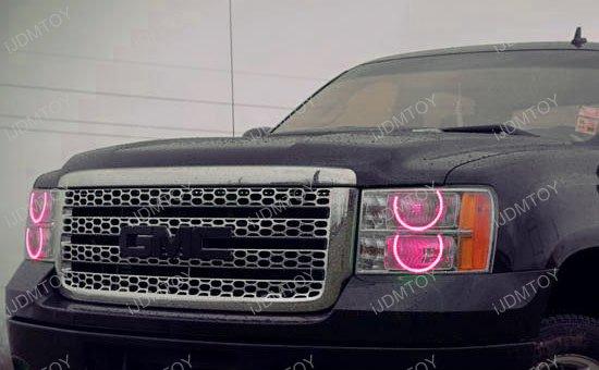 Multi-Color LED Angel Eyes LED Halo Rings