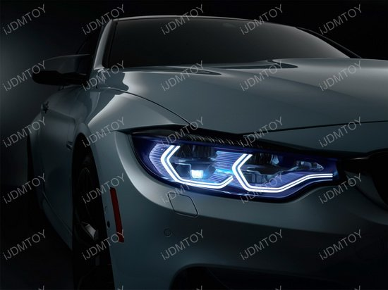 BMW Iconic LED Angel Eye Light