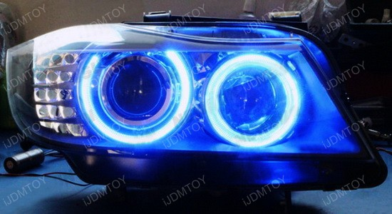 Multi-Color BMW E90 3 Series Angel Eyes LED Halo Rings
