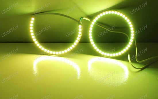 Lexus IS RBG LED Angel Eye Halo Rings