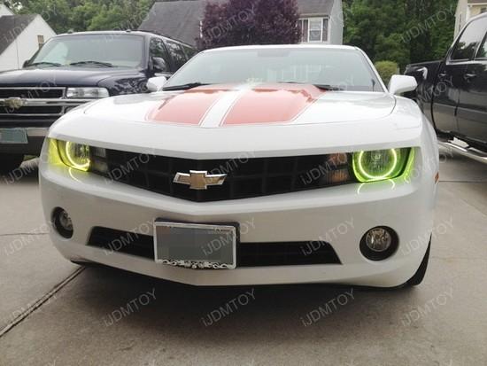 Chevy Camaro RBG LED Angel Eye Halo Rings