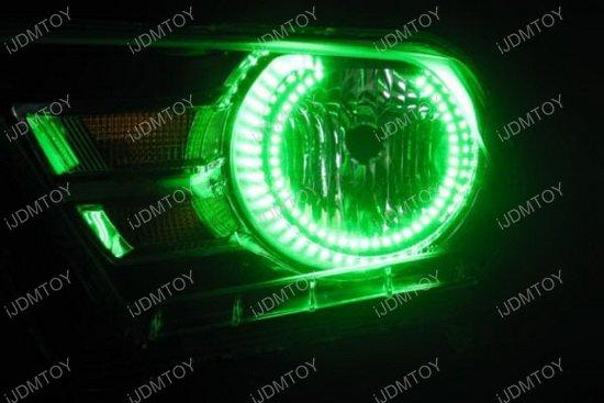 Ford Mustang RBG LED Angel Eye Halo Rings