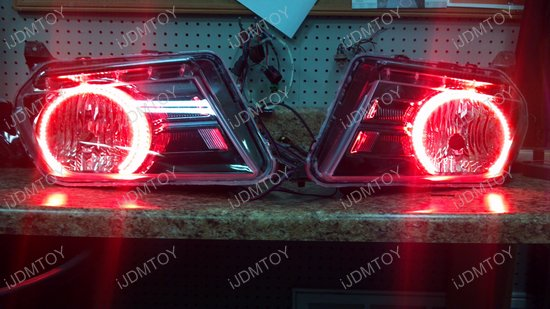 Ford Mustang RBG LED Angel Eye Halo Rings