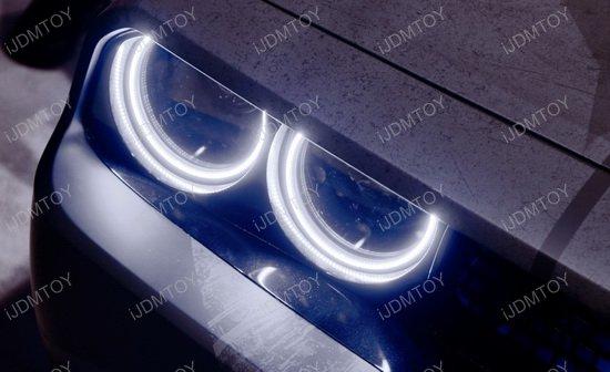 Dodge Challenger LED Angel Eye Halo Rings