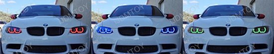 Multi-Color BMW E92 F30 3 Series Angel Eyes LED Halo Rings