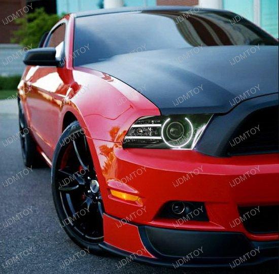 Ford Mustang RGB LED Angel Eyes LED Halo Rings