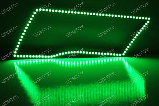 Dodge RAM RGB LED Angel Eyes LED Halo Rings