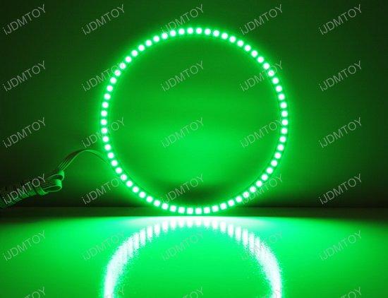 """Jeep 7"""" Headlamp RGB LED Angel Eyes LED Halo Rings"""