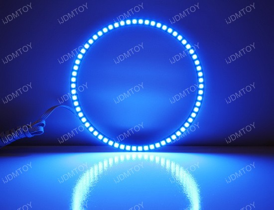 Toyota FJ Cruiser RGB LED Angel Eyes LED Halo Rings