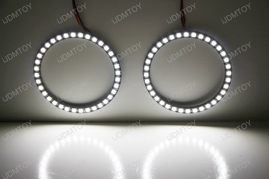 Color Morph RGBW LED Halo Ring Kit