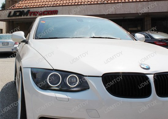 7000k White Led Bmw Angel Eyes Halo Ring For E92 328i 335i M3