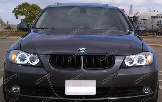 06 08 Bmw E90 3 Series Clear Housing Oem Style Fog Lights