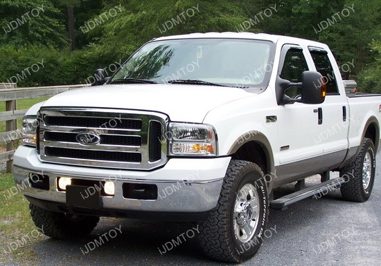 Ford F250 OEM Fog Lights 11 05 07 ford f 250 clear housing oem style fog lights ford f250 fog light wiring harness at fashall.co