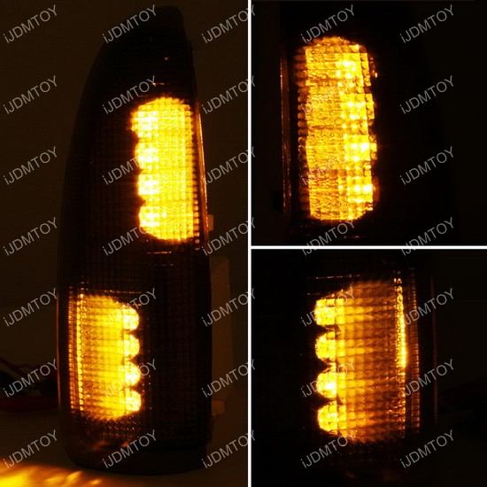 Ford Truck Amber LED Sidemarker Lights