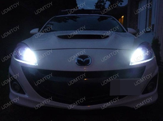9005 LED high beam daytime running light conversion kit