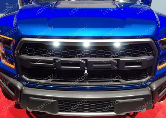 Ford Raptor LED Grille Side Marker Kit
