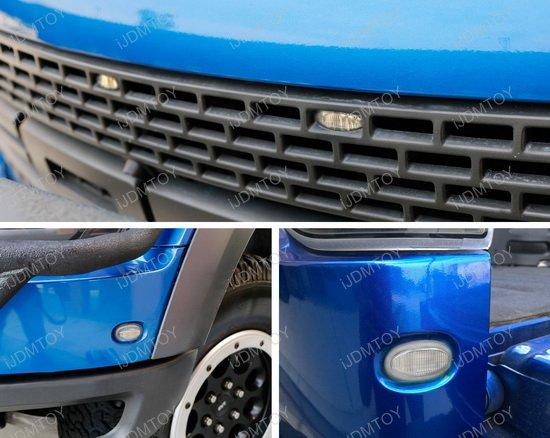 Ford Raptor LED Grille Side Marker Kit