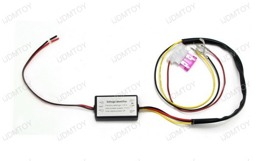 LED Daytime Running Lights DRL Module Box