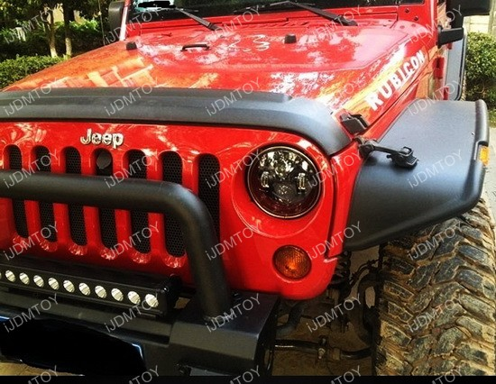 H4 To H13 Jeep Wrangler Jk Anti Flicker Decoders For