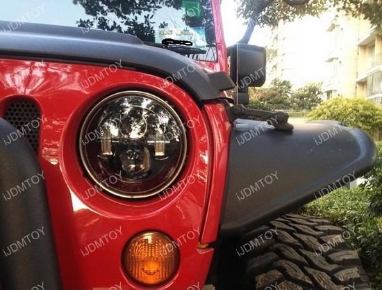 Jeep JW Speaker LED Headlight Anti Flicker Decoder
