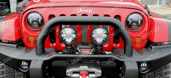 Jeep JW Speaker LED Headlight Anti Flicker Decoder