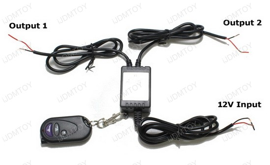 12v strobe flash solid function wireless remote for led strip  led bulbs
