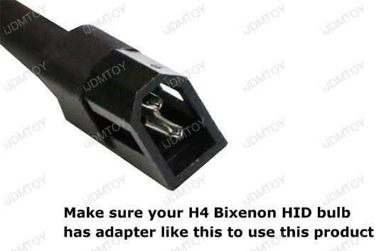 Easy Install H4 Bixenon Wires