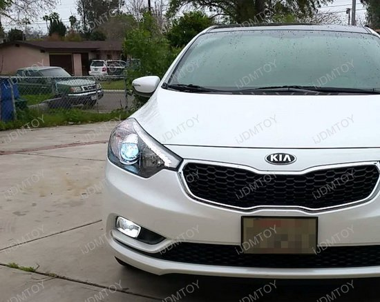 Kia Forte Koup Or Kia Rio H7 Hid Bulbs Holders Adapters