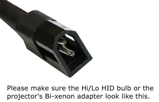 9005 9006 Bi-Xenon Adapters