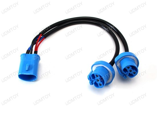 9007 HB5 2-Way Merge Wires