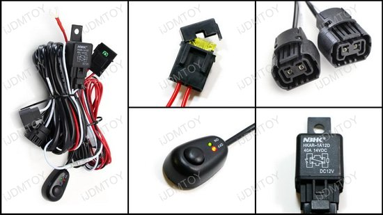 5202 PSX24W 2504 Relay Switch Harness