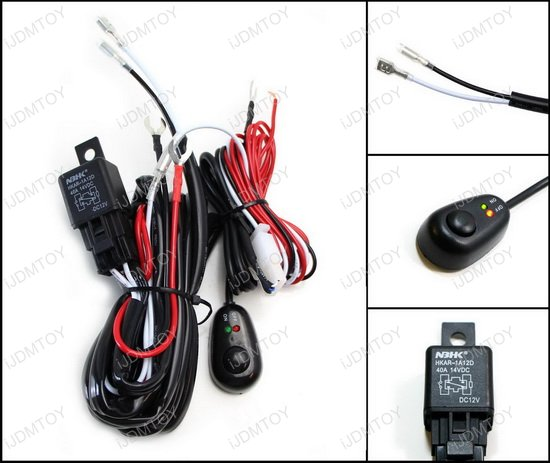 LED Light Bar Relay Switch