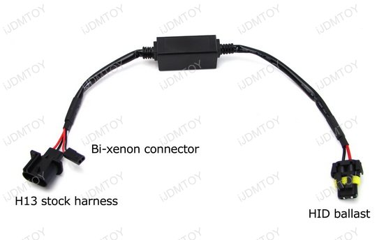 Bi-Xenon Harness Wire Switch