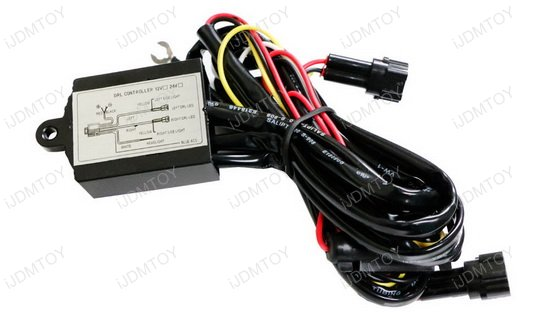 LED Daytime Running Lights Module Box 02 help wiring led headlights with halos jeep wrangler forum